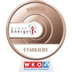Qualitätssicherungsprogramm Humanenergetik - Stufe Bronze