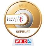 Qualitätssicherungsprogramm Humanenergetik - Stufe   Gold