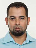 Mitarbeiter Redouane Sahl